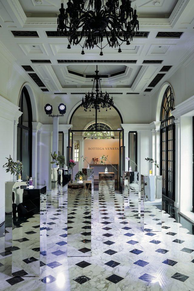 파르코 팔라디아노 향수 컬렉션을 직접 시향해볼 수 있었던 공간.