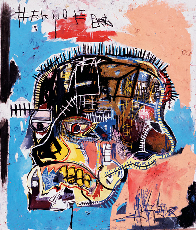 205.7 x 175.9 cm, The Eli and Edythe L. Broad Collection, © Estate of Jean-Michel Basquiat. Licensed by Artestar, New York. Picture: Courtesy of Douglas M. Parker Studio, Los Angeles