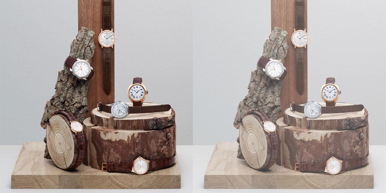 어떤 차림에든 자연스럽고 클래식한 멋을 더해줄 브라운 스트랩 시계들.