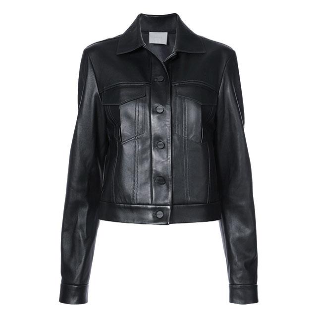 매니시한 레더 재킷은 188만원대로 DionLee by Farfetch