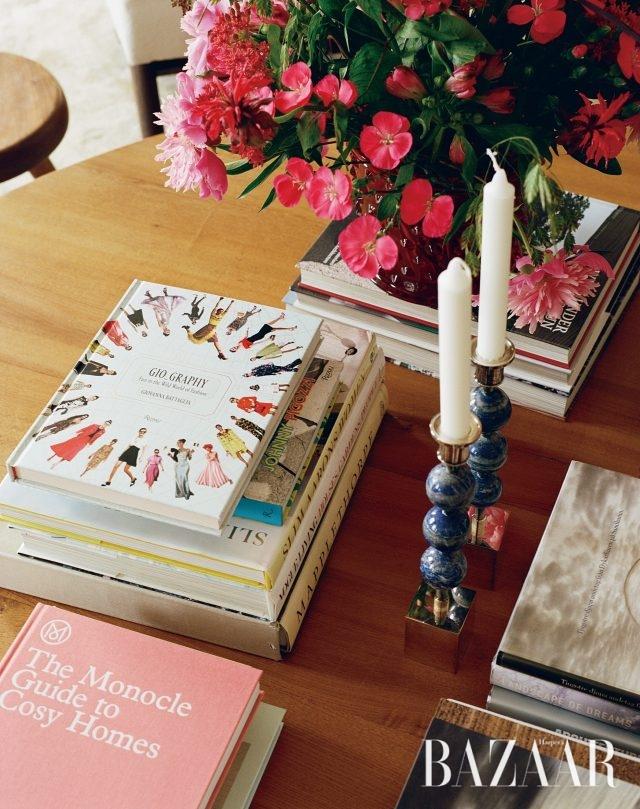 재미난 패션 팁을 전달하는 조반나의 책 .