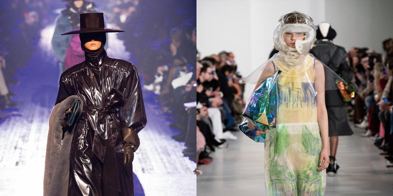 가장 눈부시고 풍요로웠던 패션의 황금기인 1980년대와 새로운 소재와 기술, 상상력으로 충만한 미래주의가 런웨이를 장악했다.