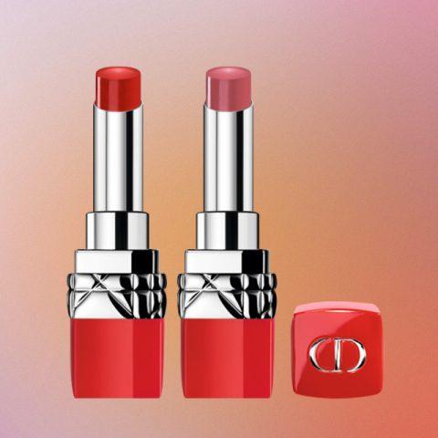 (왼쪽부터) Dior 루즈 디올 울트라 루즈 999호 울트라 디올, 485호 울트라 러스트 모두 4만3천원대