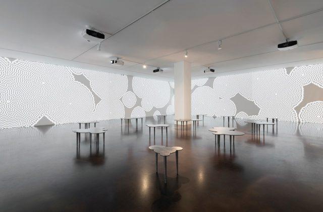 국제갤러리에서 지난 5월부터 6월까지 열린 요리스 라만 개인전 전경.