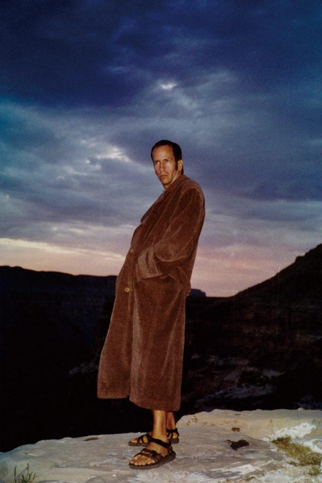 케니 샤프의 포트레이트, Hualapai Mesa, 1996.