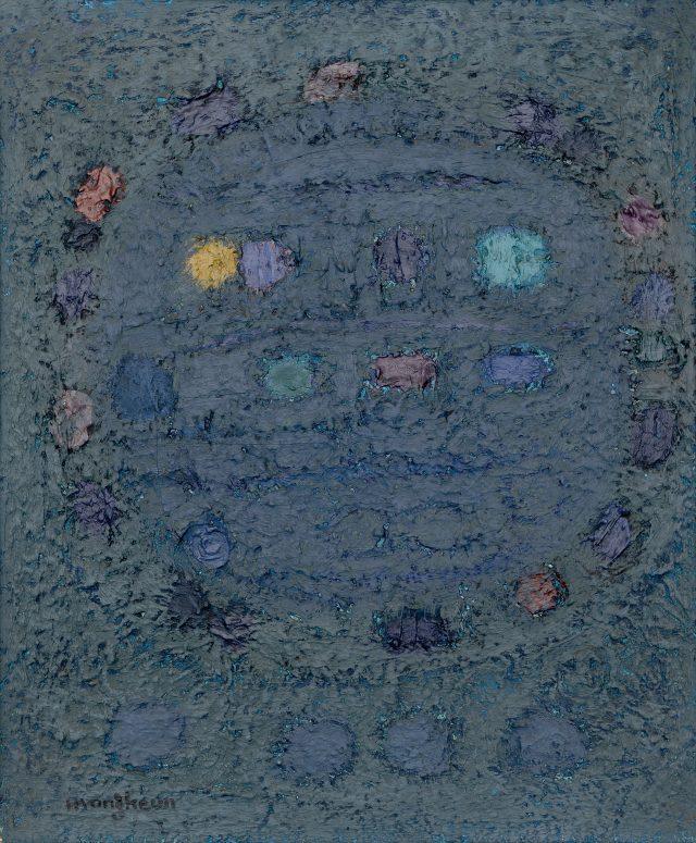 제목 미상, 1966년경, 62×51.5cm, 캔버스에 유채, 개인 소장.