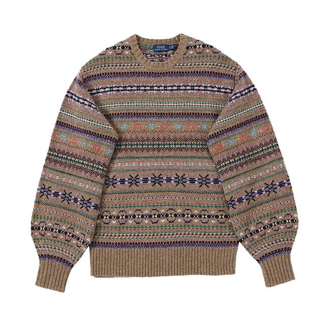 스웨터는 42만9천원 Polo Ralph Lauren
