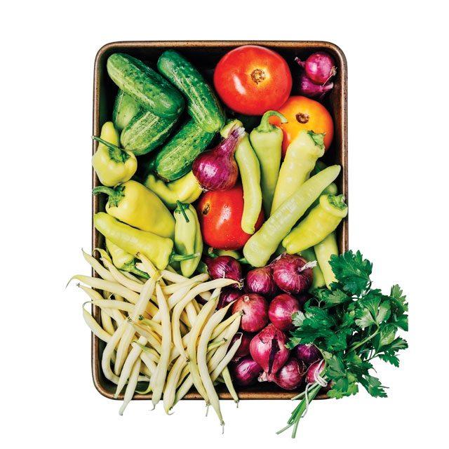 샤를리즈 테론은 야채 위주의 생식을 즐긴다.