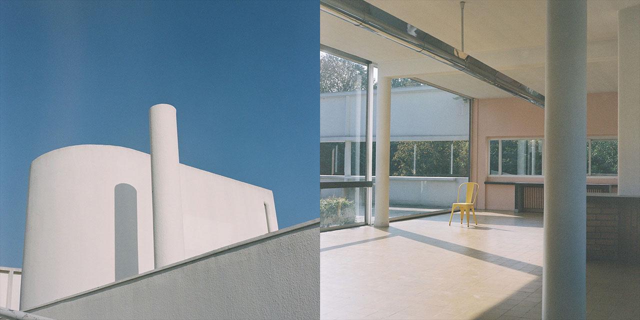 한 통의 편지로 시작돼 비와 전쟁과 철거 위기에서 살아남은 르 코르뷔지에의 상징적인 건축물 '빌라 사보아(Villa Savoye)'.  그 드라마틱한 이야기가 담긴 책 '르 코르뷔지에 : 빌라 사보아의 찬란한 시간들'과 동명의 전시가 공개됐다.