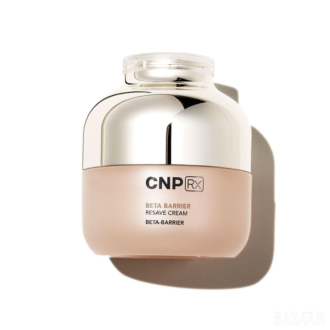 Cnp Rx 베타 베리어 리세이브 크림 세라마이드, 콜레스테롤, 자유지방산이 3:1:1 비율로 섞여 보습 효과가 뛰어나다. 9만원.