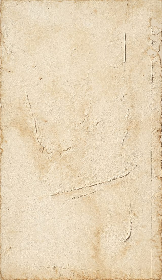 정창섭, 'Tak 89029', 1989, Tak(best fiber) on canvas, 142×82cm.