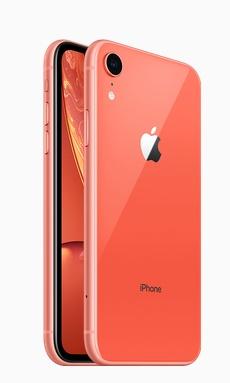 아이폰 XR 코럴은 Apple.