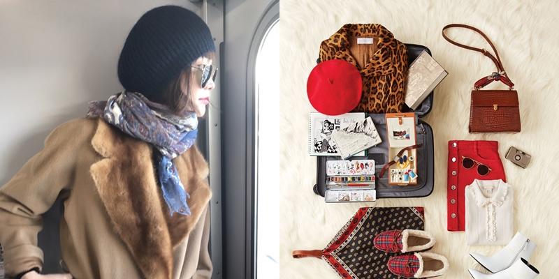 일본 삿포로로 행복한 가족 여행을 다녀온 모델 송경아가 자신의 패킹 리스트를 공개한다.