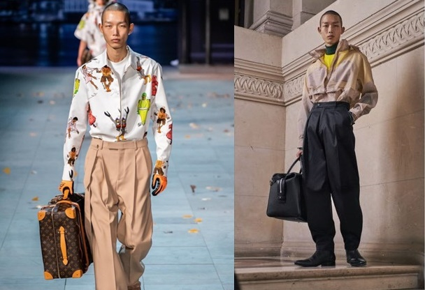 2019 F/W Louis Vuitton/ 2019 F/W Givenchy