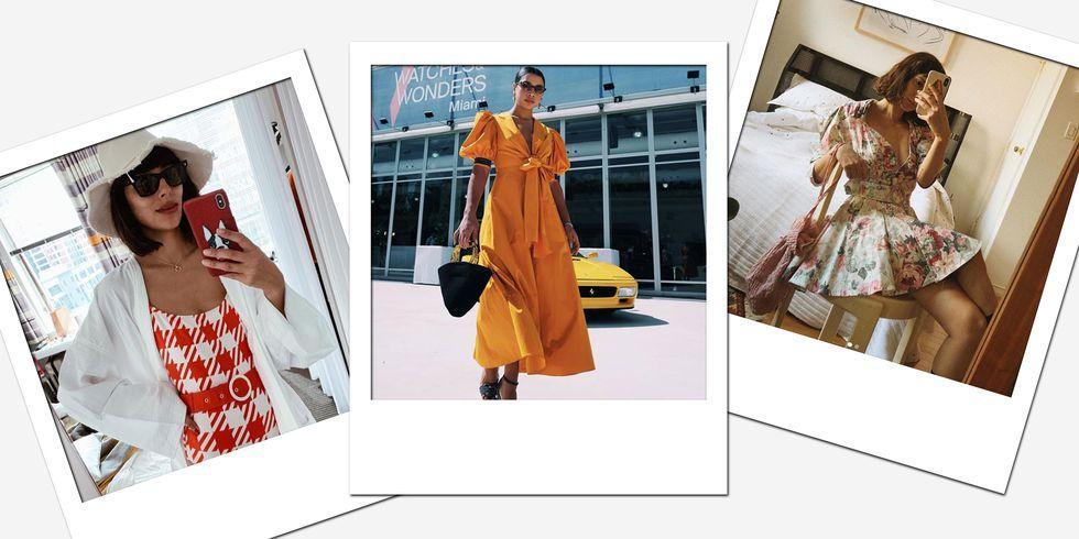 화이트 드레스, 플로럴, 버킷 햇, 샌들까지! 올 여름 필수 아이템 좌표 리스트