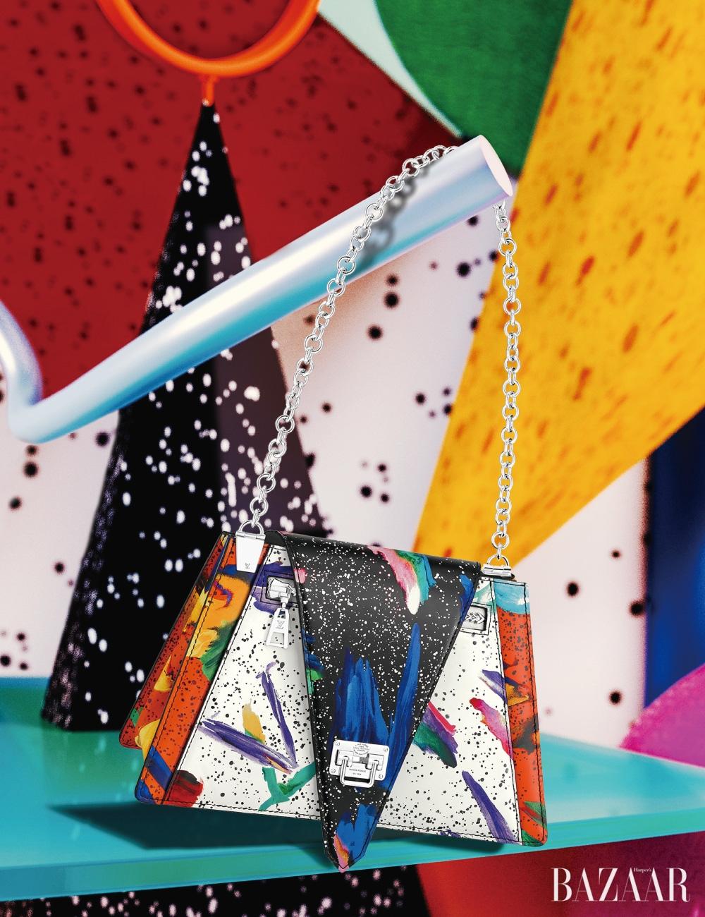 스플래시 프린트의 체인 백은 4백25만원 Louis Vuitton