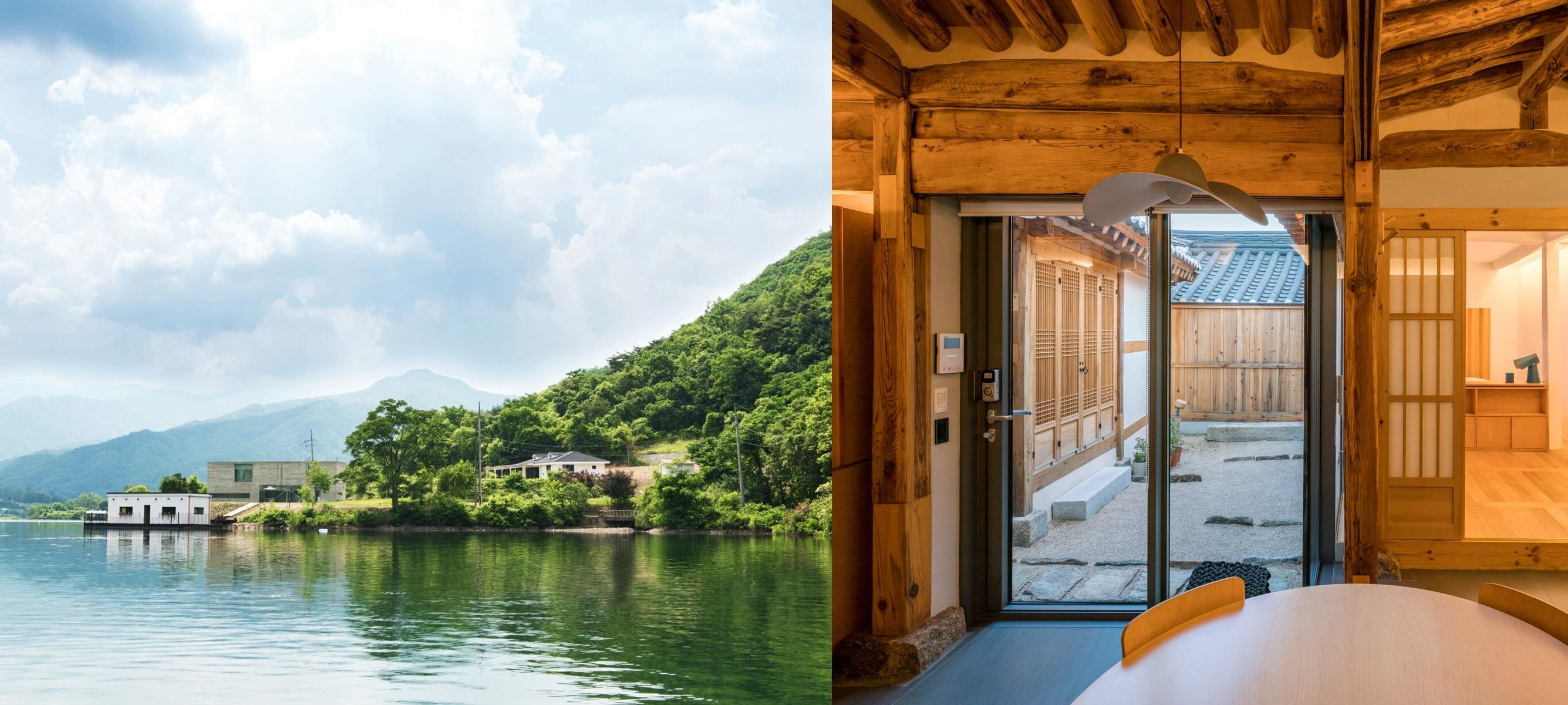 에어비앤비가 추천한 건축과 인테리어가 인상적인 국내 이색 디자인 숙소를 소개한다.