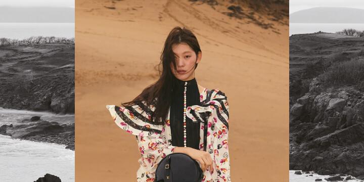 소금이 깎고 바람과 모래가 만든 기묘하고 아름다운 섬에서 마주한 2019년 프리폴 컬렉션.
