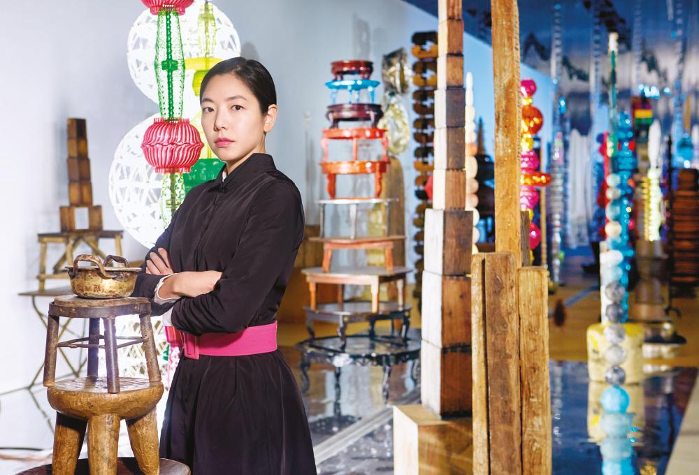 국립현대미술관 서울관, 최정화의 '꽃, 숲'과 함께