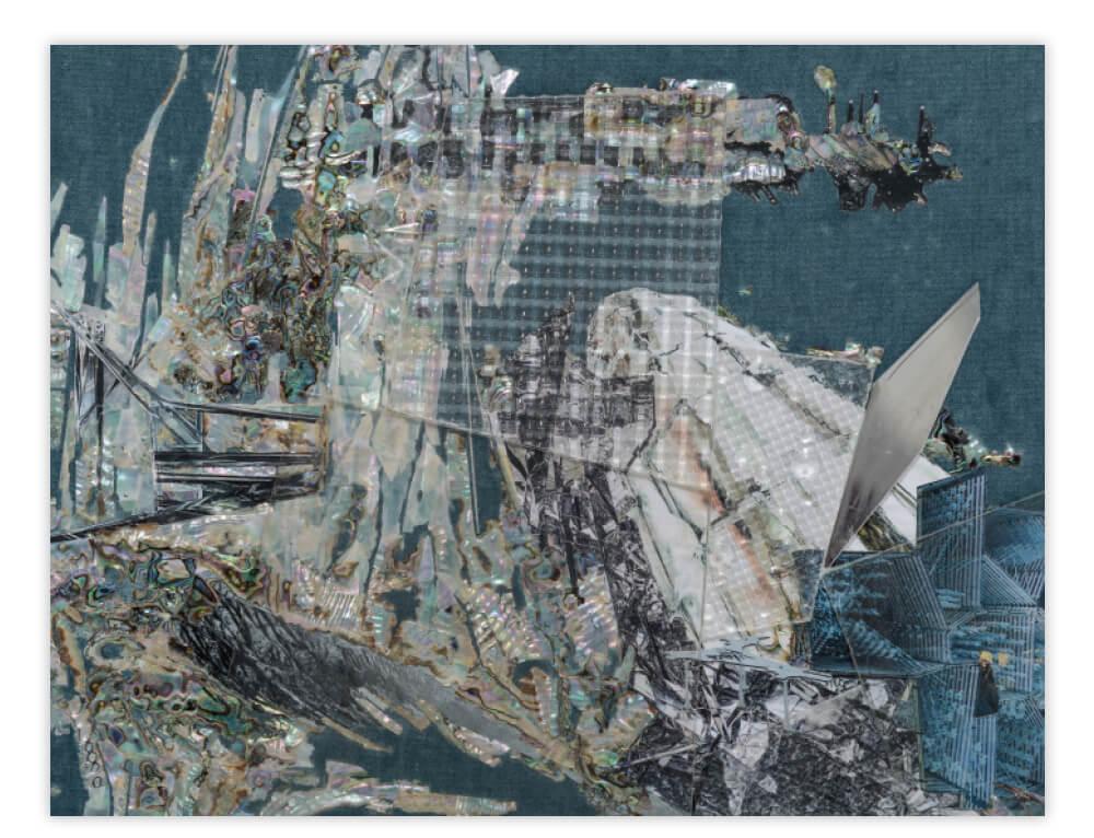 이불, '취약함의 용의', 2017, 104.8×139×9.3cm framed. 사진/ 전병철 이불 스튜디오 제공
