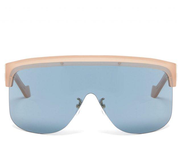 오버 사이즈 고글 선글라스는 Loewe
