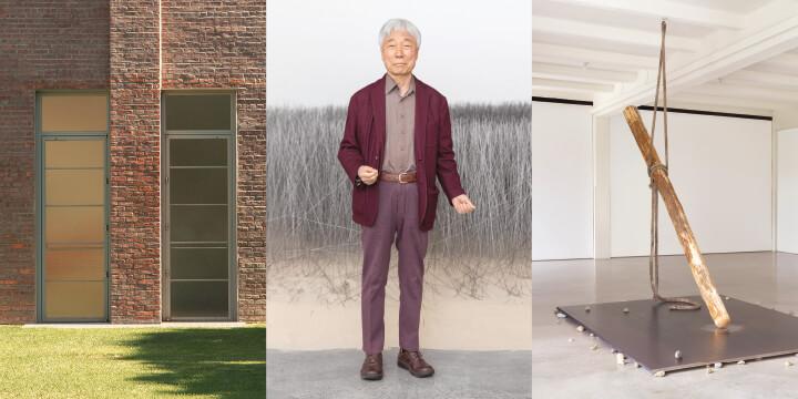 패션 브랜드 코스(Cos)와 디아 비컨 미술관의 창의적인 파트너십이 이룬 이우환 작가의 특별한 전시회에 다녀왔다. 한 마디 한 마디 청년의 기운이 느껴지던 그와 함께 나눈 인터뷰.