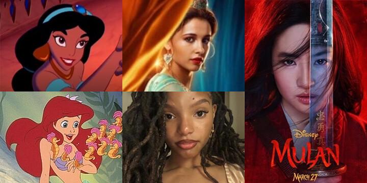 '알라딘' 부터 '뮬란', '인어공주'까지! 관습을 깨고 주체적인 여성으로 변화하고 있는 디즈니 실사판 영화들.