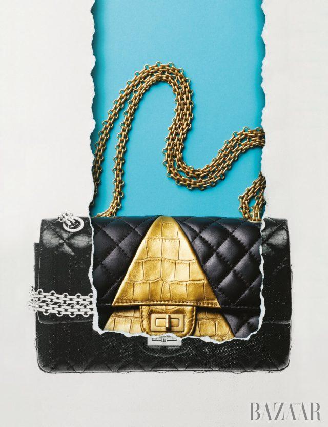 2018-19 메티에 다르 컬렉션의 2.55 플랩 백은 가격 미정 Chanel.